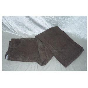 Women's St John's Bay Corduroy Pants size 14 Short